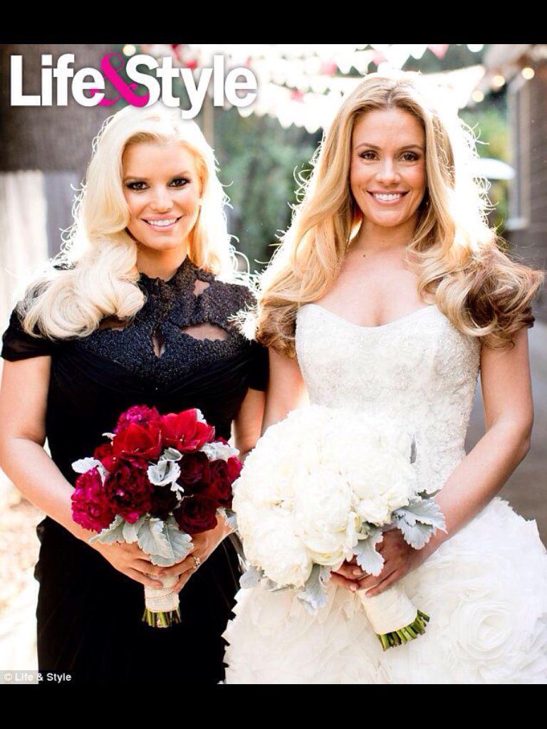 Cece wedding dress  Jessica and Cece  Jessica u Eric  Pinterest