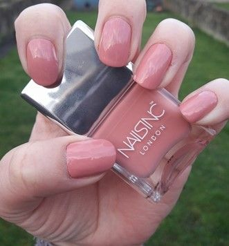 How pretty is this colour? This is nails inc polish called \'Life ...