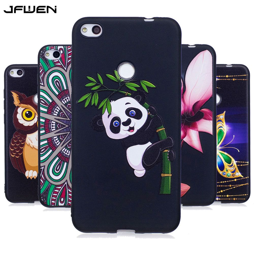 Jfwen For Fundas Huawei P8 Lite 2017 Case Silicone 3d Cartoon Cute Luxury Phone Cases For Huawei P8 Lite 2017 Case Sil Luxury Phone Case Phone Cool Phone Cases