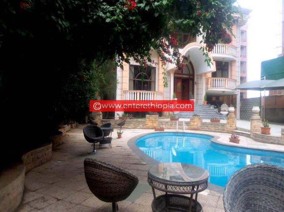 Modern G 2 House With Swimming Pool Houses For Rent In Addis Ababa Pool Houses Swimming Pools Vacation Home