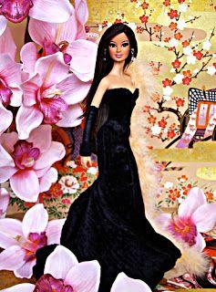 Concurso de Bonecas: Miss Beauty Doll 2011 Evening gown Grupo II - PHILIPPINES