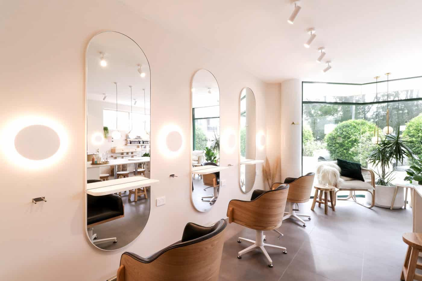 17 Creative Hair Salon Lighting Design Ideas In 2020 Hair Salon Design Hair Salon Decor Salon Suites Decor