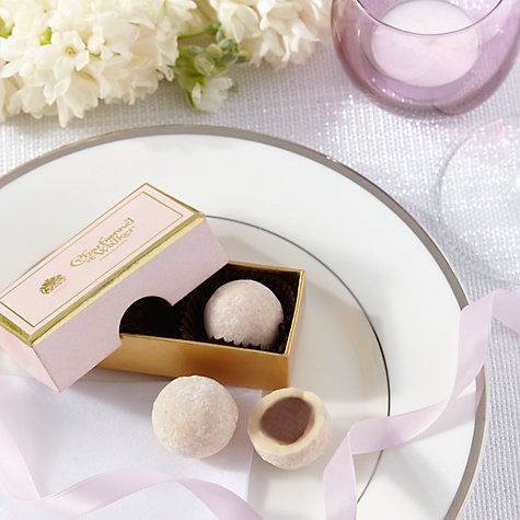 Charbonnel Et Walker Pink Marc De Champagne Truffles 22g Online At