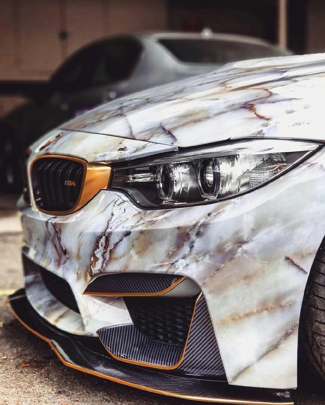 Bmw M4 With Marble Wrap Travel In Style Michaellouis
