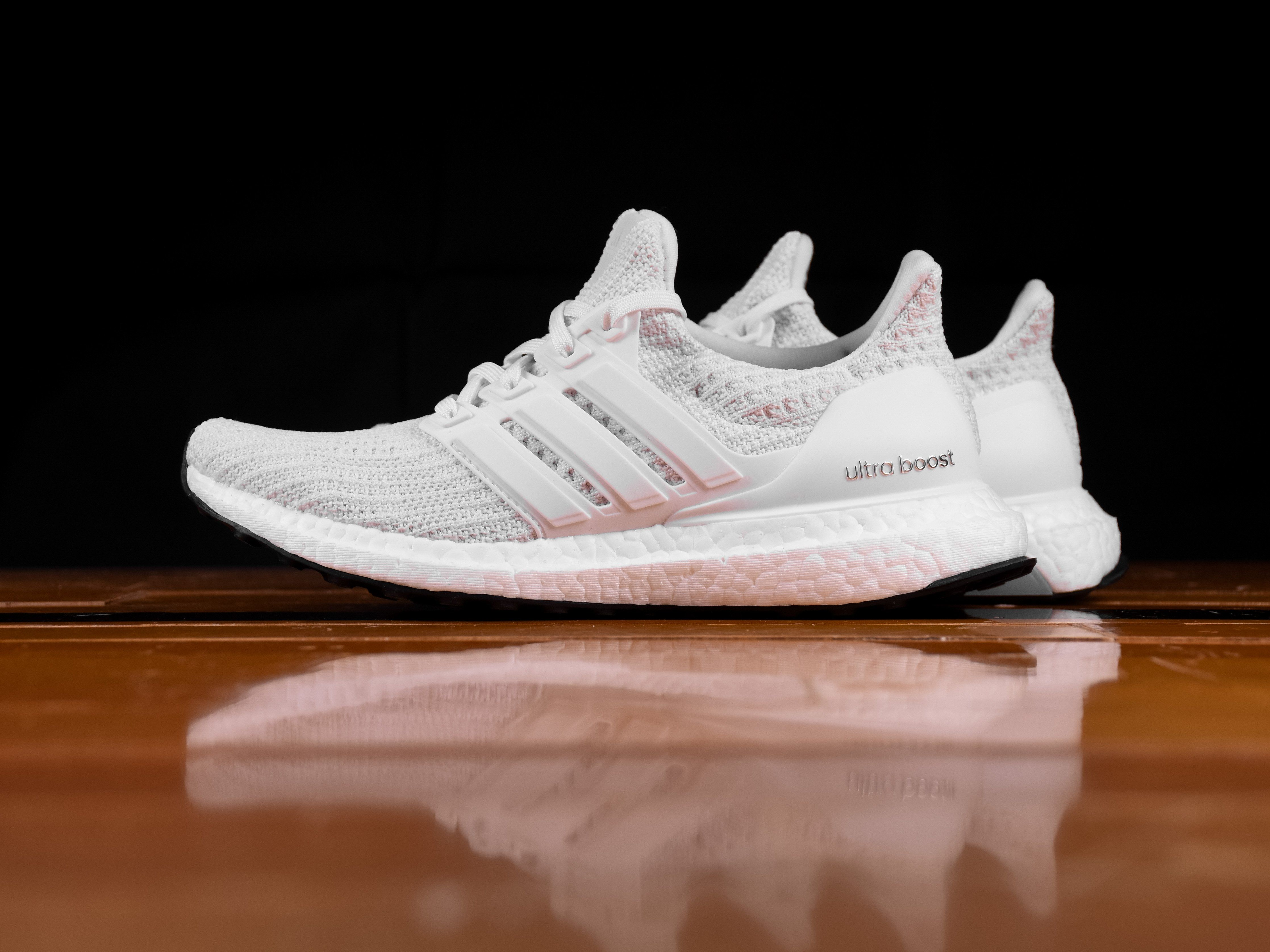 31b5f5cb86cc6 Women s Adidas Ultra Boost 4.0  Triple White   BB6308