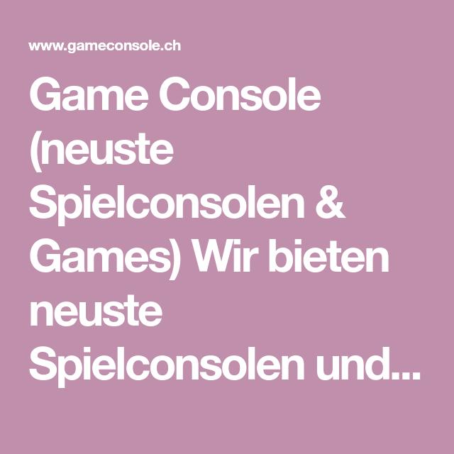 Neuste Games