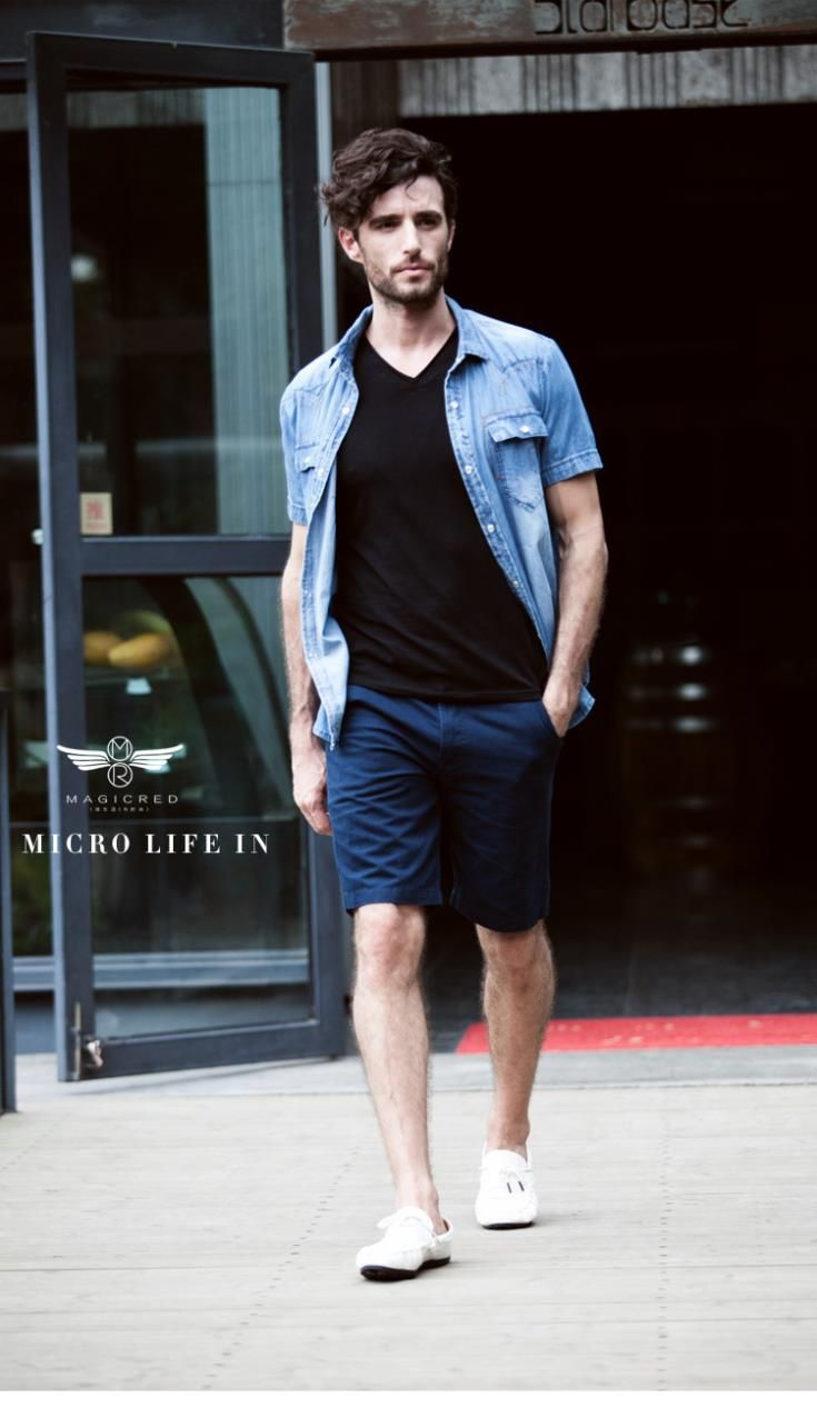 Casual-Shorts-Summer | Outfits para hombres | Pinterest