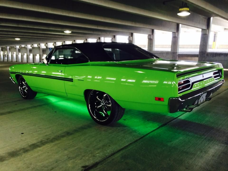 Mean Green MOPAR | Classic Cars | Candy paint cars, Muscle cars, Cars