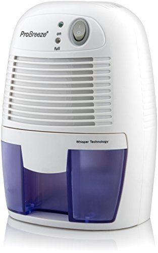 Pro 1100 Cubic Feet Compact Dehumidifier Very Quiet Home