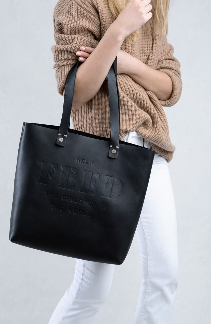 da861b27b5 The Harriet Tote provides 100 meals to children in need when purchased.
