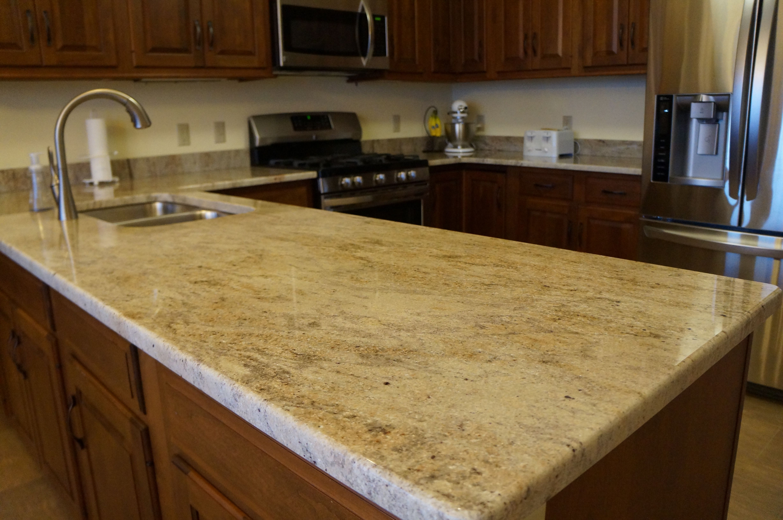 3cm Kashmir Cream Granite Granite Countertops Kitchen Granite Kitchen Kitchen Decor