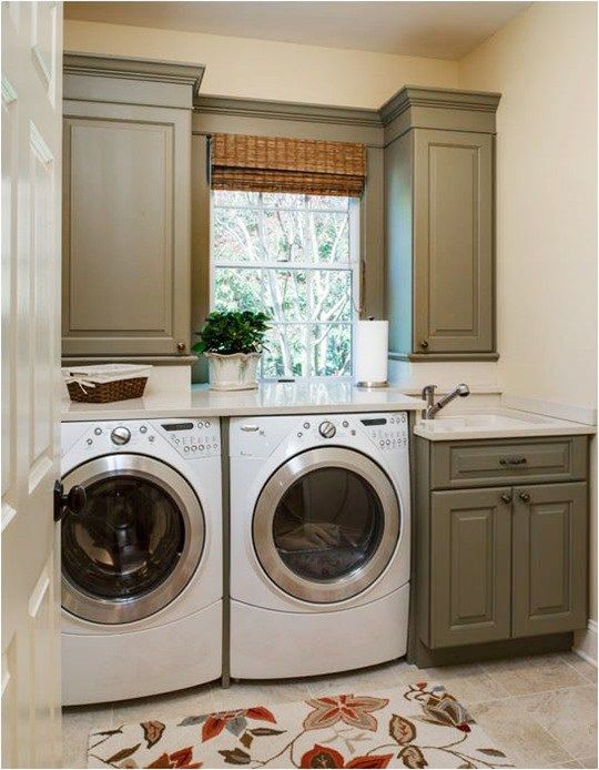 Olive Green Small Laundry Rooms Olive Green Kitchen Laundry