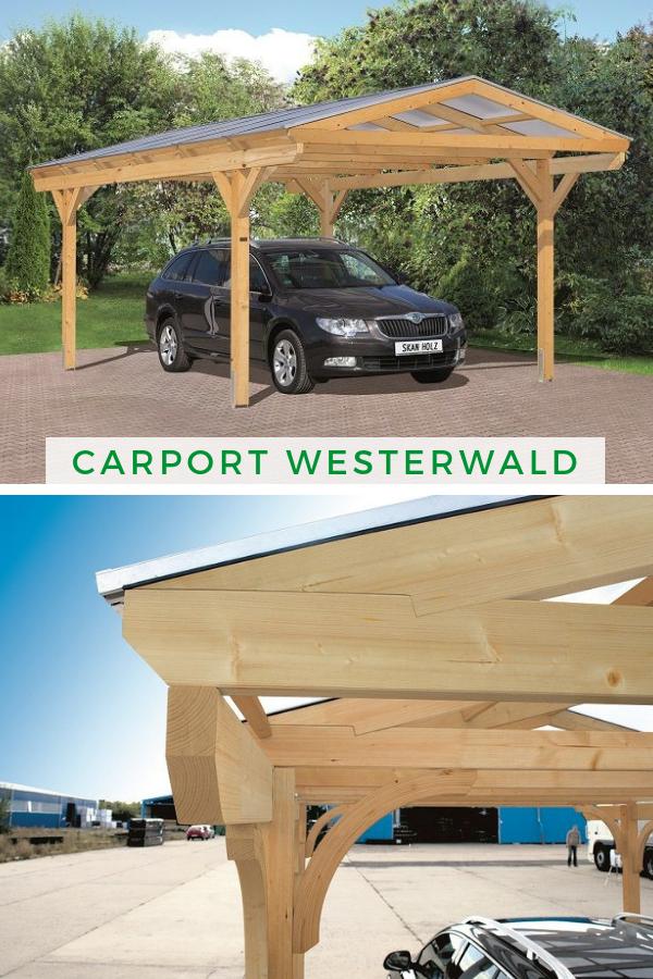 Carport Westerwald 362 X 648 Cm Carport Holzgarage Und Carport Modern