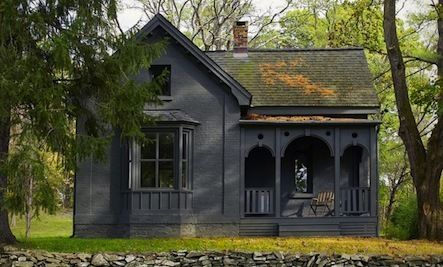 Paint It Black A House In Rhinebeck New York By Tsao