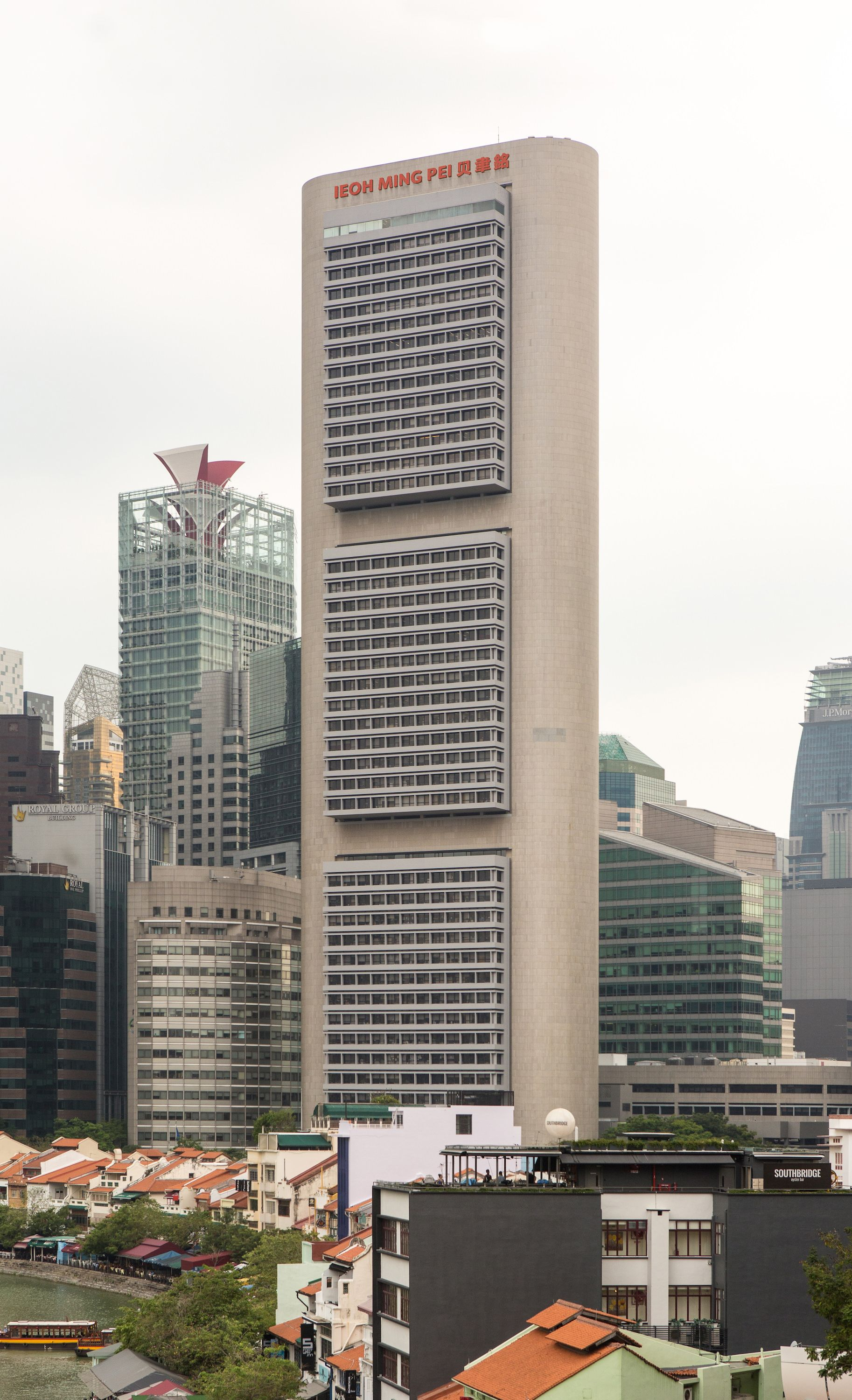 OCBC Tower by Ieoh Ming Pei & Partners and BEP Akitek ...