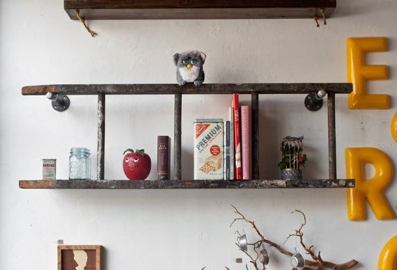 Create Extra Shelving Sometimes To Reuse Something In A New Way