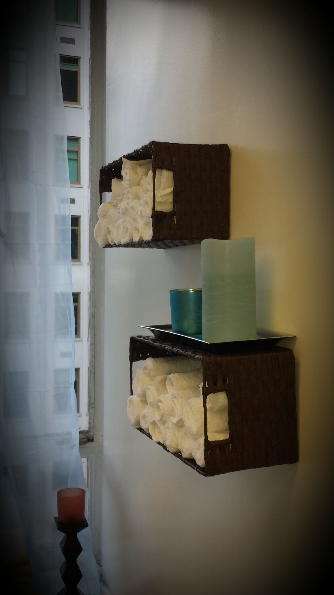 treatment room storage idea massage therapy esthetician