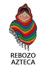 REBOZO AZTECA hecho en MEXICO