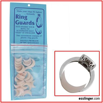 Wes Gem Plastic Ring Guards Assortment 27 Pieces Handmade Jewelry Ring Plastic Ring Ring Guard
