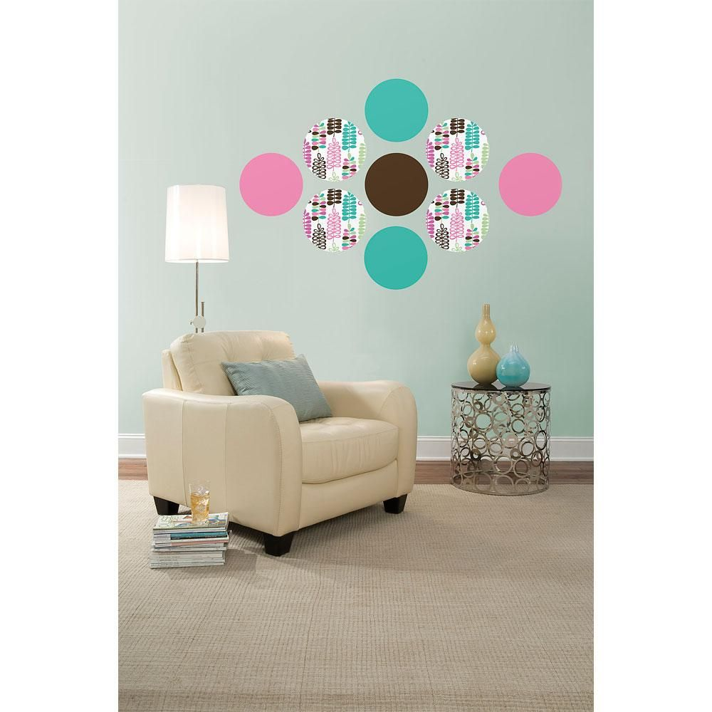 Obedding Brewster Home Fashions Espirit Dots Wall Accent Stickers