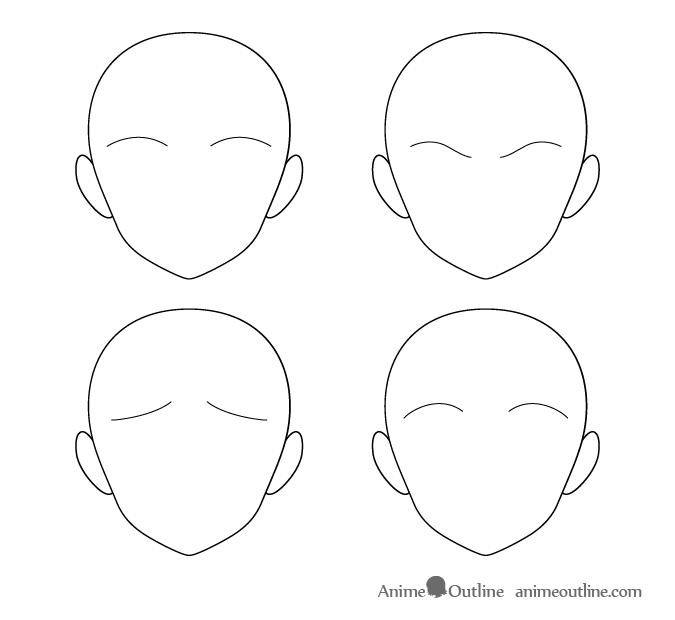 How To Draw Anime Manga Eyebrows Animeoutline In 2020 Anime Drawings Anime Eyebrows Drawings