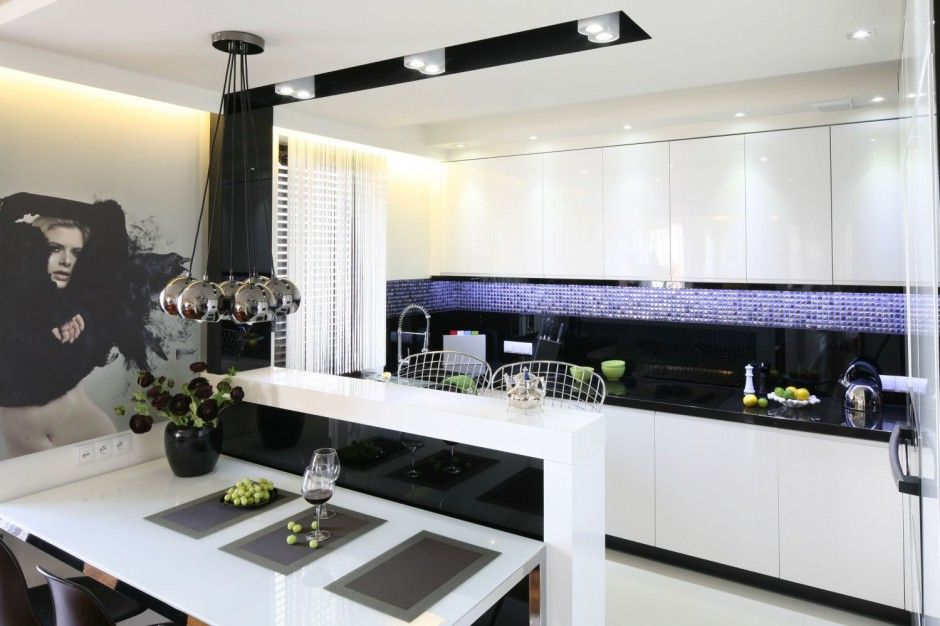 Kuchnia Na Jednej ścianie Szukaj W Google Mieszkanie