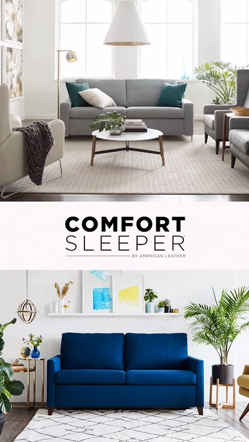 The most comfortable AND most versatile sleeper sofa available at Sedlak's!