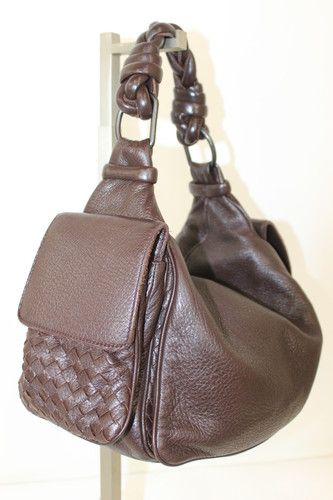Authentic Bottega Veneta Er Brown Leather Handbag Ebay This Is A Perfect Bag Classic And For Every Season Day Or Night