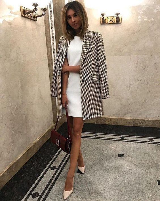 Photo of kjole og blazer