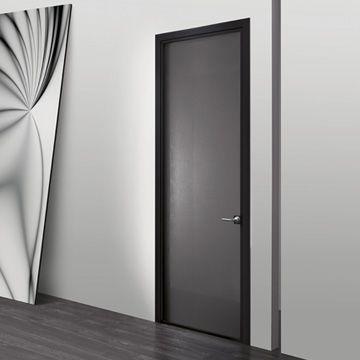 Res website. Wing door with frame in Nero finish & Res website. Wing door with frame in Nero finish | Thin Framed Doors ...