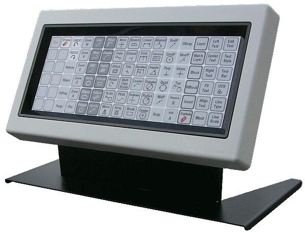 AutoCad, Photoshop, Quickbooks, Programmable Shortcut keyboard makes users more efficient. More Details: http://www.electronickeyboards.com/autocad-keyboards.html
