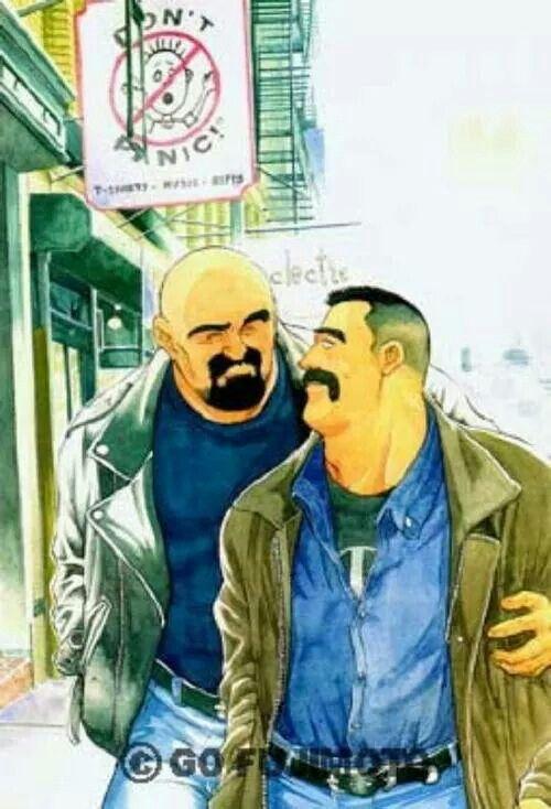 Go Fujimoto | bara | Pinterest | Gay art, Art styles and ...