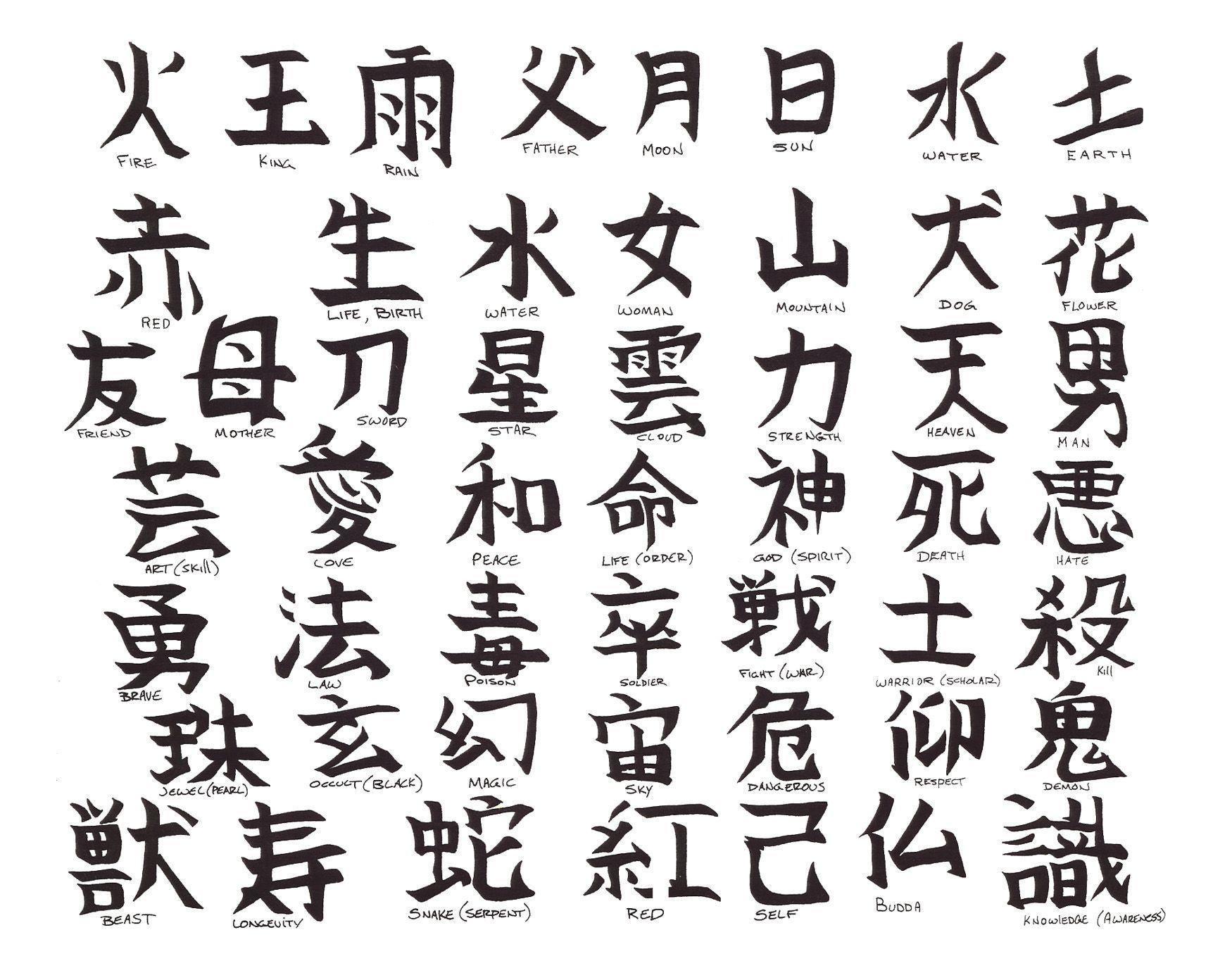 tattoo symbols amp design index alphabetical listing of - HD1750×1375