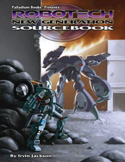 Robotech RPG ~This will be the latest addition to our gaming books.