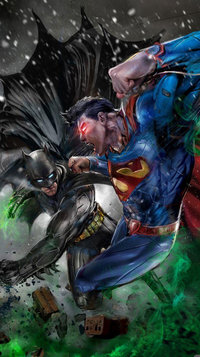 The Dark Knight Vs The Man Of Steel Illustrated Batman Vs Superman Batman Batman Vs