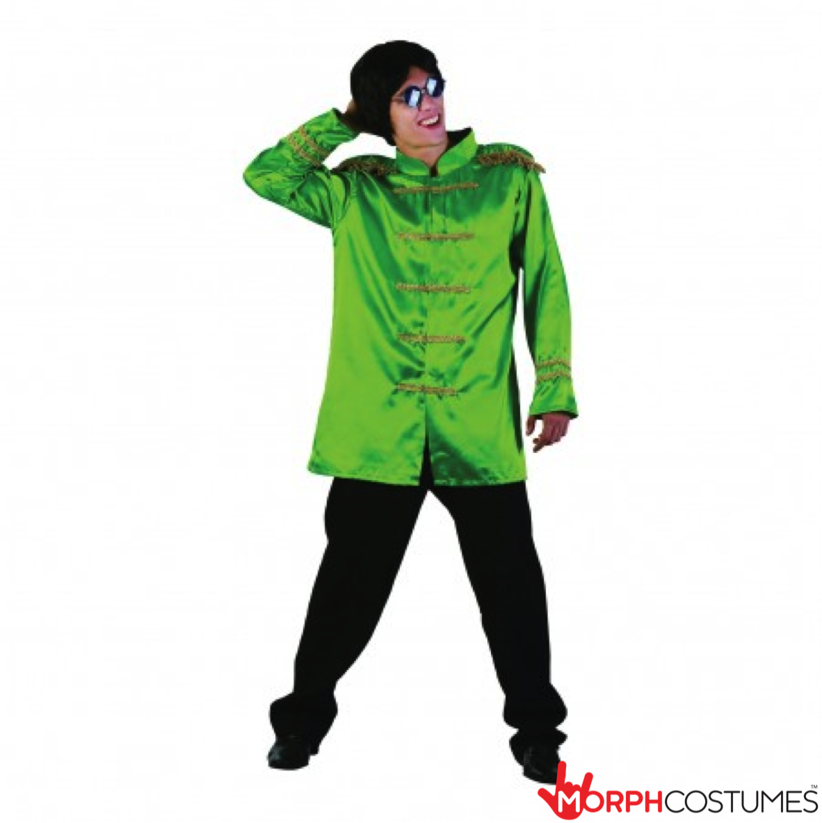 Delightful Mens Fancy Dress Costume Inspiration: Are You A Fan Of The Beatles? Who  Isnu0027t! We Canu0027t Imagine Why Anyone Would Not Want To Dress Up In This  Awesome Green ...