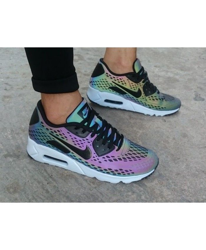basket running nike 2017,air max 90 ultra moire holographic