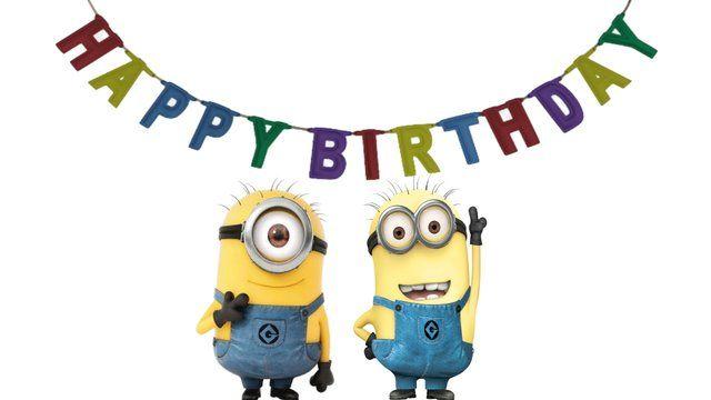 Happy Birthday Despicable Me Minions Happy Birthday Happy