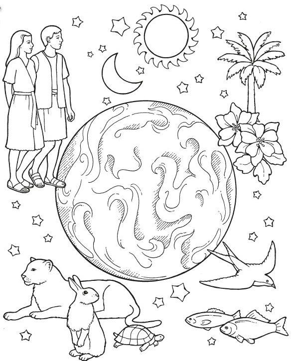 risultati immagini per disegni creazione mondo scuola