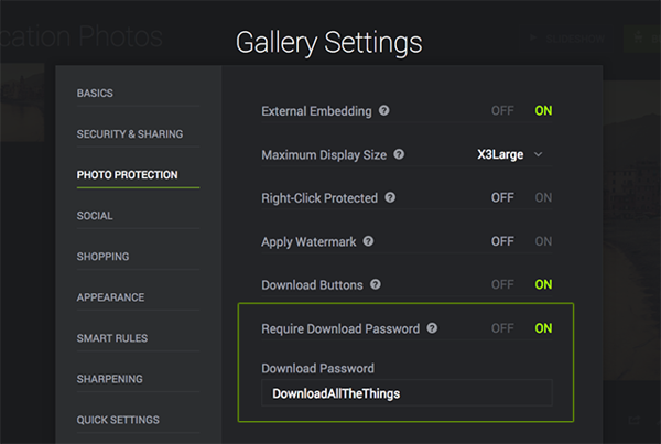 How do I download all images in a gallery? | SmugMug