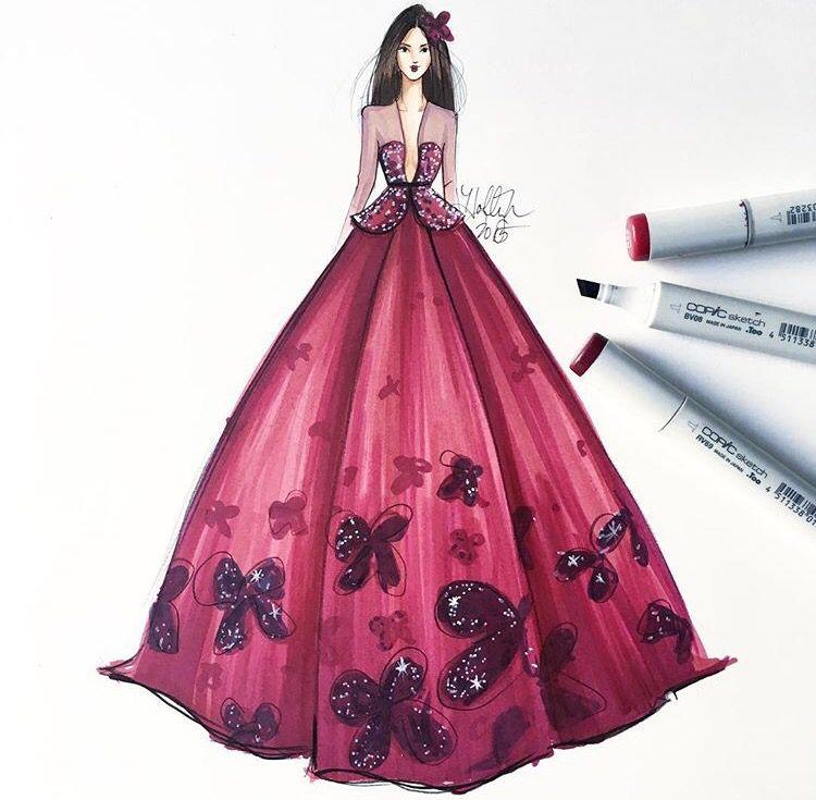 Pin de Nevene en Fashion Design   Pinterest   Dibujo