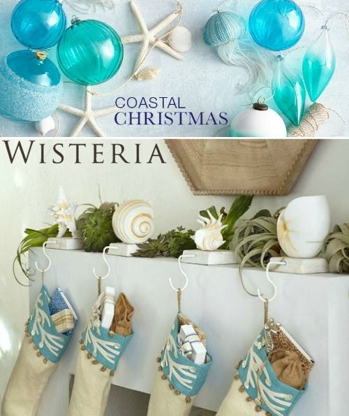 Coastal Christmas Online Shopping Guide With Images Coastal