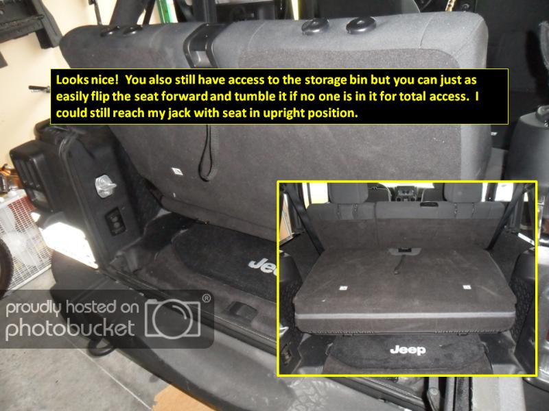 Oem 3rd Row Seat Install On Jku Jeep Wrangler Forum Jeep