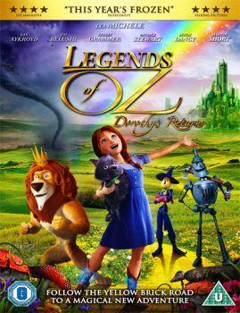 Ver Las leyendas de Oz: El regreso de Dorothy (2014) online