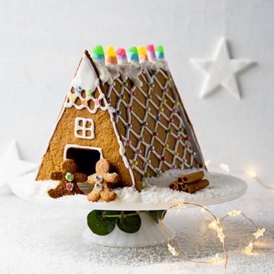 Easy gingerbread house Woolworths TASTE Recipe Easy