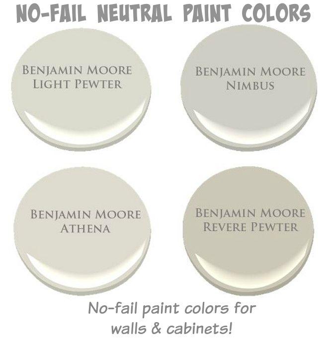 Neautral Colors: Neutral Paint Colors … In 2019