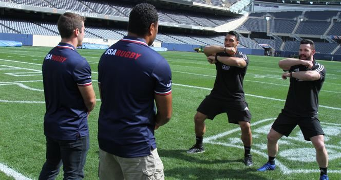 The Tradition Of Aotearoa Rugby Union Teams Soldier Field All Blacks