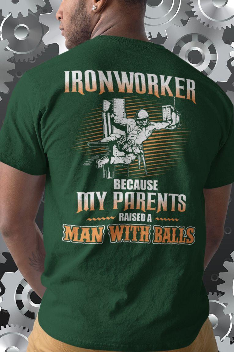 Ironworker Tee T Shirts   Azərbaycan Dillər Universiteti