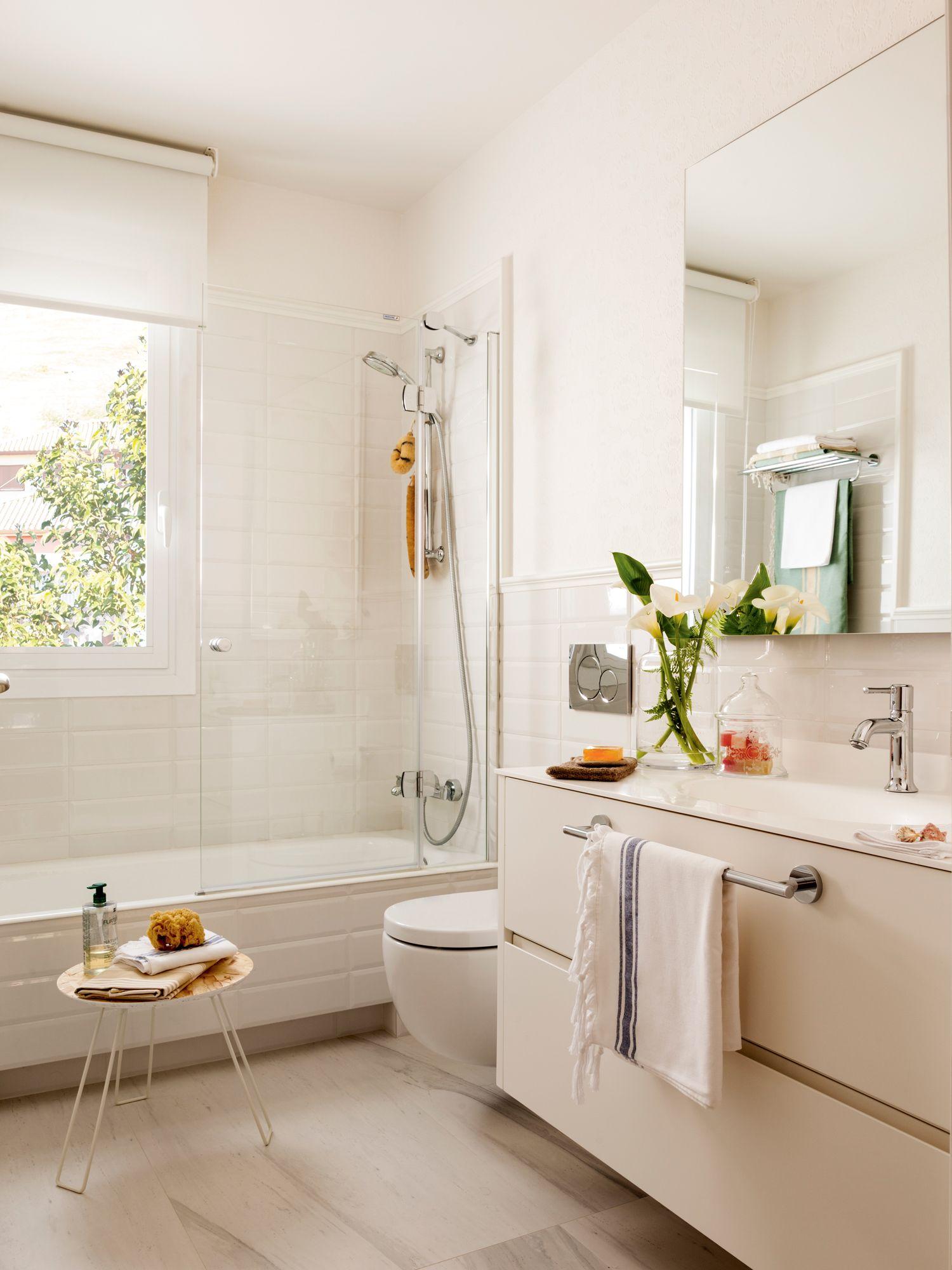 Cambia el espejo ba os peque os ba os modernos ba os for Espejos para banos modernos y pequenos