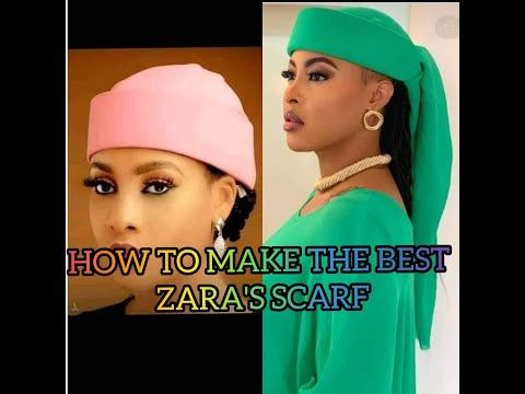 ZARA'S SCARF- MAKE THE BEST ZARA'S SCARF EVER